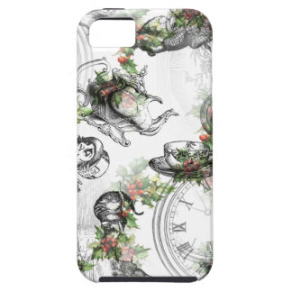 Alice in Wonderland Holly Christmas iPhone 5 Cover
