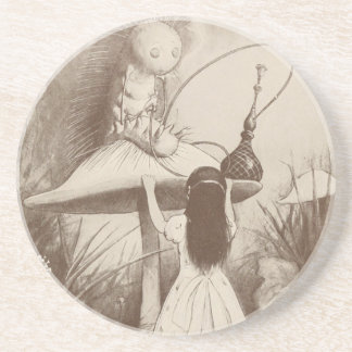 Alice in Wonderland, Hookah Smoking Caterpillar Drink Coasters