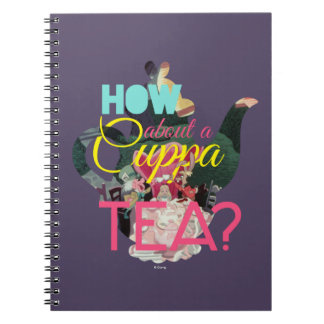 Alice In Wonderland | How About A Cuppa Tea? Spiral Notebook