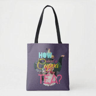 Alice In Wonderland | How About A Cuppa Tea? Tote Bag