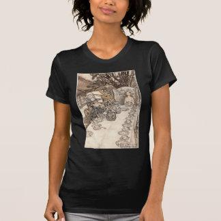 Alice in Wonderland Illustration Mad Hatter T-Shirt