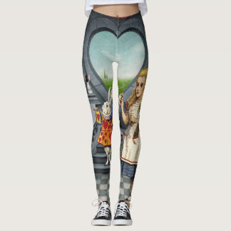 Alice in Wonderland Leggings 2