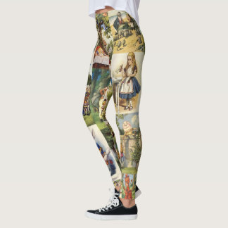 Alice in Wonderland Leggings! Leggings