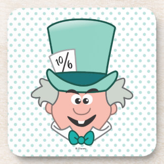 Alice in Wonderland | Mad Hatter Emoji Beverage Coasters