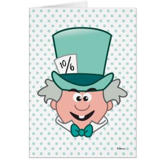 Alice in Wonderland   Mad Hatter Emoji Card