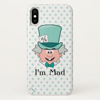 Alice in Wonderland | Mad Hatter Emoji iPhone X Case