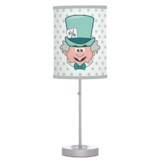 Alice in Wonderland | Mad Hatter Emoji Table Lamp