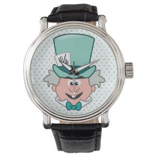 Alice in Wonderland | Mad Hatter Emoji Wrist Watch