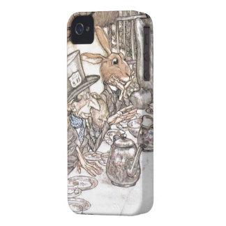 Alice in Wonderland - Mad hatter iPhone 4 Case
