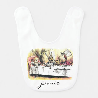Alice in Wonderland Mad Tea Party Bib