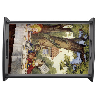 Alice in Wonderland Mad Tea Party Serving Tray