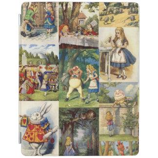 Alice in Wonderland magnetic iPad cover