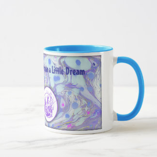 Alice in Wonderland Marble Paper Designed Mug