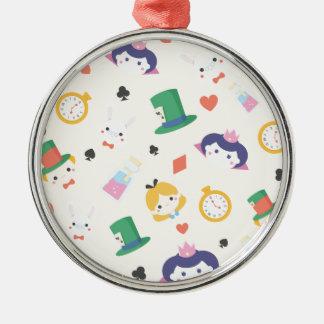 Alice in Wonderland Metal Ornament