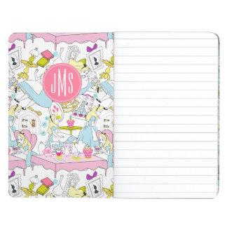Alice in Wonderland | Monogram Oversized Pattern Journal