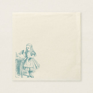 Alice in Wonderland - Napkin Disposable Napkin