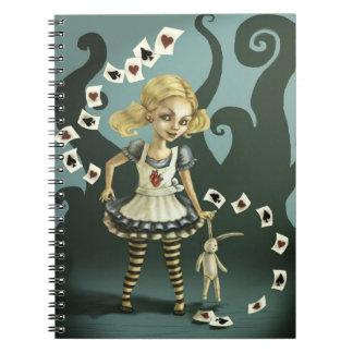 Alice in Wonderland Note Book