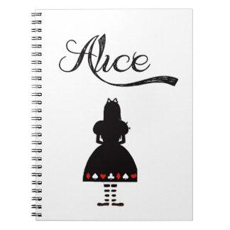 Alice In Wonderland Notebook