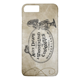 Alice In Wonderland of Curiousities W/Cheshire Cat iPhone 7 Plus Case