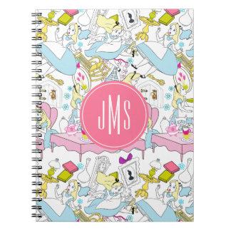 Alice in Wonderland | Oversized Pattern Notebooks
