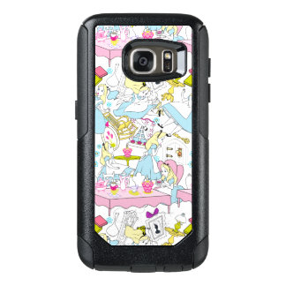 Alice in Wonderland | Oversized Pattern OtterBox Samsung Galaxy S7 Case