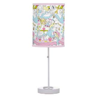 Alice in Wonderland | Oversized Pattern Table Lamps