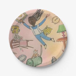 Alice in wonderland - paper plate