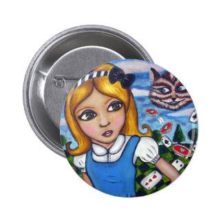 Alice in Wonderland Pin