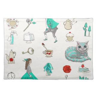 Alice in wonderland placemat