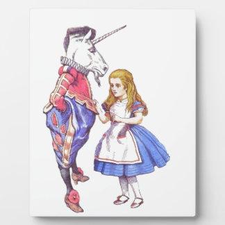 Alice in Wonderland plaque