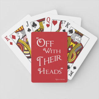 Alice in Wonderland Playing Card - Queen of Hearts