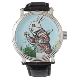 Alice in Wonderland Pocketwatch watch White Rabbit
