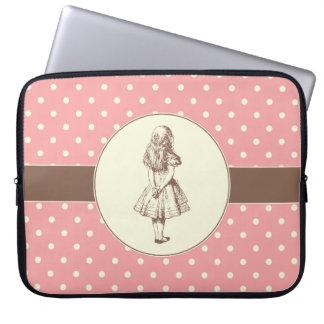 Alice in Wonderland Polka Dots Laptop Sleeves