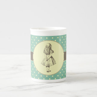 Alice in Wonderland Polka Dots Tea Cup