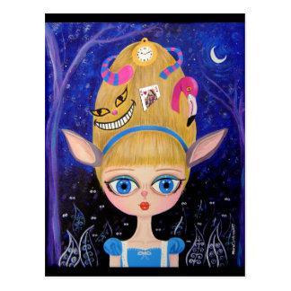 Alice in Wonderland Postcard