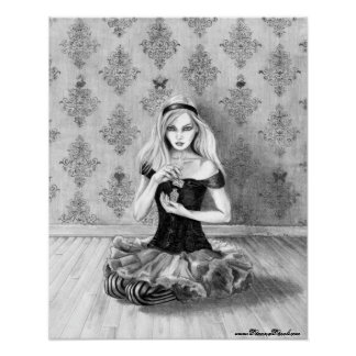 Alice in Wonderland Poster Alice Art