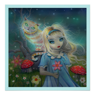 Alice in Wonderland Poster Print