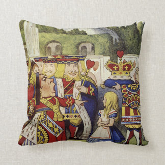 Alice in Wonderland Qeen of Hearts Pillow