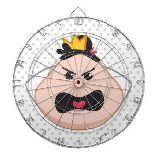 Alice in Wonderland   Queen of Hearts Emoji Dart Boards
