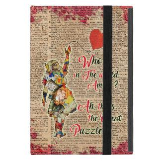 Alice in Wonderland Quote Vinatge iPad cover