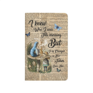 Alice in Wonderland Quote Vintage Dictionary Art Journal