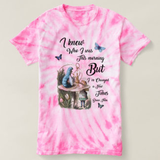 Alice in Wonderland Quote Vintage Dictionary Art T-shirt