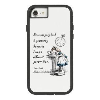 Alice in Wonderland Quotes Case-Mate Tough Extreme iPhone 8/7 Case