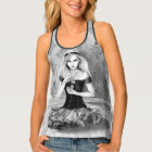 Alice in Wonderland Racerback Tank Top