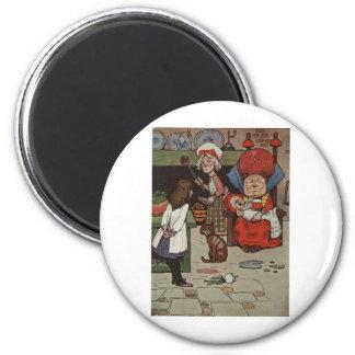 Alice in Wonderland Scene 4 Magnet