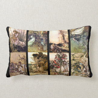 Alice In Wonderland Set Of Eight Images Cushions
