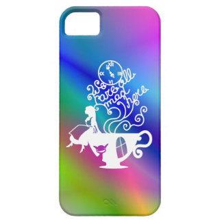 Alice in Wonderland. Silhouette illustration Case For The iPhone 5