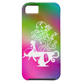 Alice in Wonderland. Silhouette illustration iPhone 5 Cover