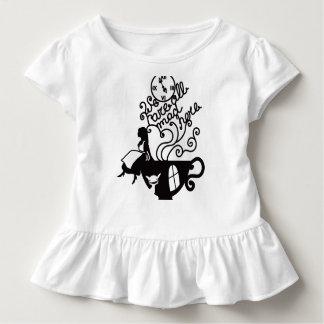 Alice in Wonderland. Silhouette illustration Toddler T-shirt