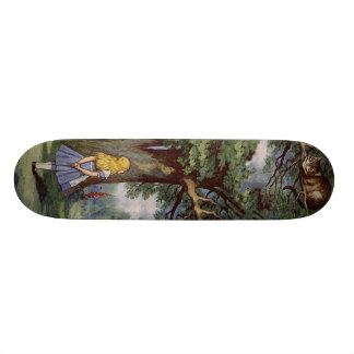 Alice in Wonderland SkakeBoard Pro Custom Skateboard